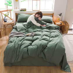 100% wuschen Baumwollgewebe des Bettwäsche-Sets