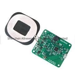 Lo schema personalizzato 12V del chip di Nuvolta ha immesso il modulo di carico senza fili 15W per la trasmissione la scheda di PCBA + dello schema DIY della bobina
