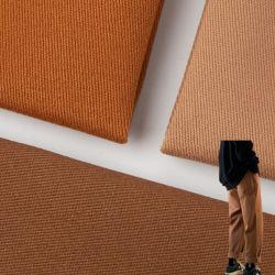 China Fabricante personalizado Eco-friendly poliéster algodón Spandex imitación Casual negocio Pantalones/prenda de vestir/pantalones tejidos TC pantalones elásticos tejido