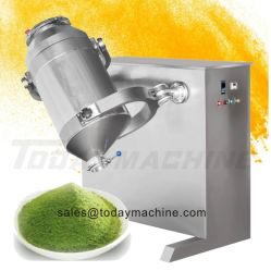 L'industrie de la Chine usine du fabricant de lait en poudre sèche d'Approvisionnement de café de farine de Herb Spice 3D Console et les mélangeurs à vendre