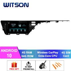 Multimedia dell'audio sistema dell'automobile del video di tocco del Android 10 per il RAM 2018 di Toyota Camry 4GB (basso) 64GB