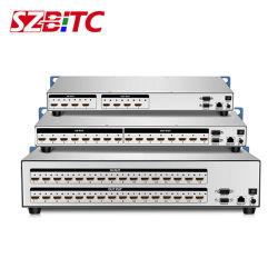 4K Switcher 4kx2K@30Hz van de Matrijs van de Matrijs 4X4 8X8 16X16 van HDMI VideoSplitser HDMI met Afstandsbediening 2u voor blu-Straal DVD