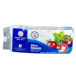 Salle de bains de gros du papier de toilette de tissus 2 & 3 plis pâte vierge avec le service OEM