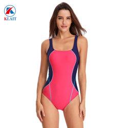 Les femmes d'une pièce de la formation des courses d'Athlétisme Sports maillots de bain Maillot de bain bloc de couleur