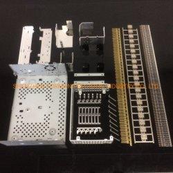 OEM맞춤형 자동/자동차 판금 제작 스탬핑 부품 및 골드 접촉 시 플래시