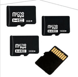 بطاقة Micro TF سعة 128 جيجا بايت سعة 64 جيجا بايت سعة 32 جيجا بايت سعة 16 جيجا بايت سعة 4 جيجا بايت بطاقة ذاكرة SD Flash الفئة 10