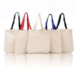 Nouveau Vert chine Fabricant plaine organiques Shopping personnalisé Tote shopper sacs réutilisables de gros sac à bandoulière pliable coton