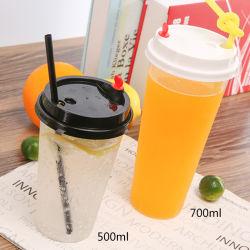 PPの高い浸透の注入のコップの冷たい飲み物ジュースのプラスチックマグ