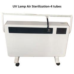 4つの管の産業携帯用紫外線公衆衛生のカート-コロナのウイルスの空気紫外線滅菌装置ランプの紫外線消毒ランプ