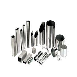 원형/사각형/사각형 SS 201 304 316 316L 피클/브러시/미러 폴리싱 튜브 심리스/용접 스테인리스 스틸 파이프 가격