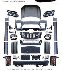 2021 أوتوبيوغرافي أحدث أدوات تنظيف الجسم SVO OE SVA المصد الكامل طقم الهيكل لسيارة رينج روڤر Vogue حتى عام 2018-2020 تحويل الأجزاء التلقائية