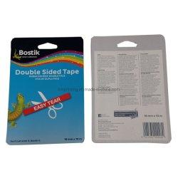 사용자 지정 로고 인쇄 용지 헤더 슬라이드 블리스터 카드 인쇄 광고 판매