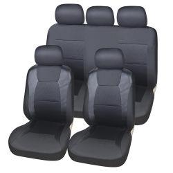 Funda de asiento de coche Tejido de poliéster de espalda bajo el asiento del cojín del asiento de coche Conjunto de cubierta