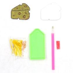 Mestiere Handmade all'ingrosso del regalo di promozione del magnete del frigorifero di DIY