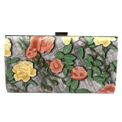 High Quality Fashion Women Bag Flower Ladies Party Evening Bag
