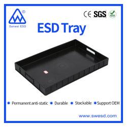Logística palets de plástico antiestático SMT para Componente
