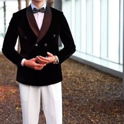 형식 복장 의복 Mens 디자이너는 도매 적당 남자 한 벌을 적응시킨다