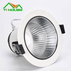 Big Watts de haute qualité réglable plusieurs tailles de grille à LED Downlight Led Spotlight de rafles de matériaux de construction
