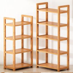 أرفف التخزين الخشبية المزخرفة الرف الرف الحمام طبق التخزين تخزين أدوات المطبخ على حامل