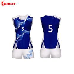 L'homme personnalisé Aibort Polyester Femme Shorts de volley-ball de plage occasionnels (T-VB-11)