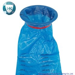 Customerize Entwurfs-Wegwerferbrechen-Beutel, Erbrechen-Beutel, Luft-Krankheit-Beutel, Krankheit-Beutel, Urina Beutel, Plastiktaschen, mit 1500 cm-grossem Größen-Beutel für Krankenhaus-Gebrauch