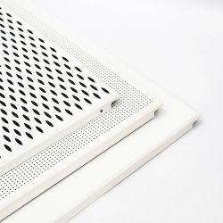 Placas de forro de alumínio perfurados encaixar no tecto para material de construção