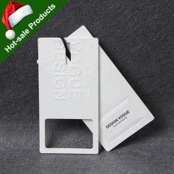 중국 공장 최고 고급 제품은 서류상 걸림새 꼬리표의 인쇄를 주문 설계한다