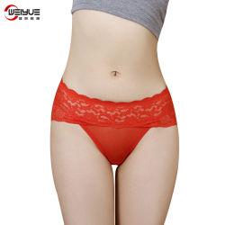 Elastische Mesh Fabric Fashion Sexy Lace Underwear Hipster brief voor dames Panties Women Underwear