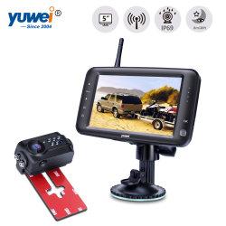 """Wireless 5"""" Carro do Monitor do Sistema de Câmera para visão traseira de Backup"""