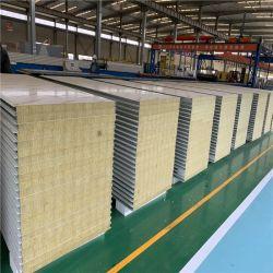 El aislamiento térmico para la limpieza de placas sandwich de lana de roca Habitación