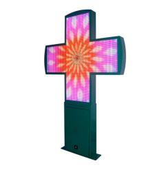 P10 LED Croix de la pharmacie d'affichage écran LED RVB de la pharmacie signer