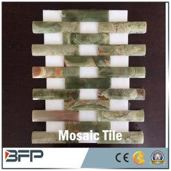 Arte em mármore de pedra natural para casa de banho em mosaico / Mosaico de piso de cozinha