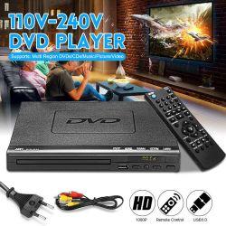 Ficha preta de Home Theater DVD USB 3.0/DVE Player em tamanho pequeno