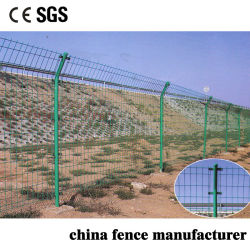 Hersteller Sale Anti Climb PVC Coated Double Hinged Joint Wire Fence für Farm