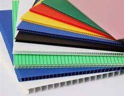 波形を付けられる防水帯電防止PPパックの版かシートまたはボード広告する