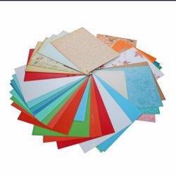 La Chine de gros de matériel en plastique rigide en PVC de couleur pour les sources fixes