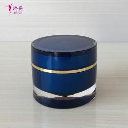 30g pot de crème acrylique droites ronde pour les cosmétiques L'emballage
