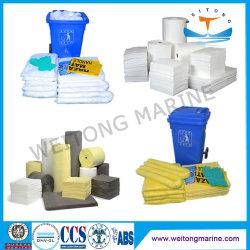 Medio marino y protección de la industria química de los Absorbentes absorbentes de aceite universal para el Control de Derrames 100% polipropileno