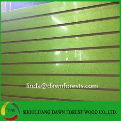 보호 피막 높은 광택 PVC 슬롯 MDF를 덮기