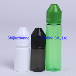 60ml 2oz de Fles van het Huisdier van de Capaciteit met de Flessen van het Deksel