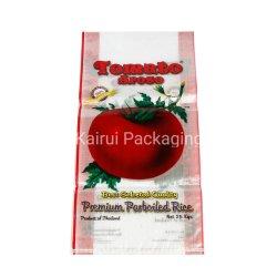 Usine des emballages en plastique PP tissés de gros sacs pour le millet, du riz, de la nourriture, des engrais, semences, des aliments
