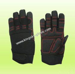 Luvas/Trabalho/Luvas luvas de couro sintético/Luva de microfibra/Luva de Segurança Mecânico/Luvas luvas de trabalho