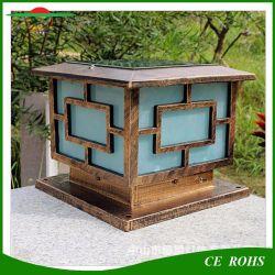 Commerce de gros High-Grade classique étanche à l'extérieur, de lumière solaire décoratifs pilier piquet de clôture de la porte de lumière solaire pour le jardin