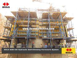 Zolo Acb100 automatisch hydraulisch zelfklimwerk voor Silo Chimney Project