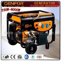 5KW Home usado gerador a Gasolina de Energia Portátil
