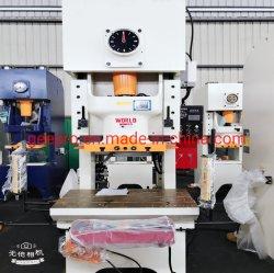 Auf lager Rahmen-lochende mechanische Presse des Abstands-100ton mit pneumatischer Kupplung