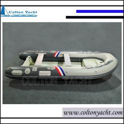 360cm rígida barco inflável com casco de alumínio para a Pesca