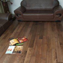 Piso de madeira de ácer chineses Solid pisos de madeira