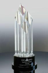 Решение компании Zenith трофей Clear и черный оптический Crystal для 1-е место для победителя соревнований (#5345 утилита)