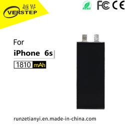 Batterie de téléphone mobile de haute qualité des matériaux, pour l'original iPhone 6S, 303996, 1810mAh, fabrique des accessoires personnalisés